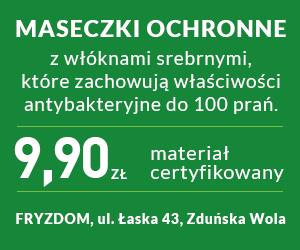 Maseczki ochronne Zduńska Wola
